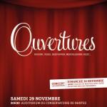 affiche concert Ouvertures 2014